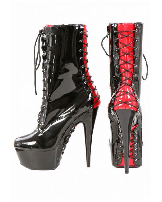 s9164-bk-vinyl-ankle-boots (3)