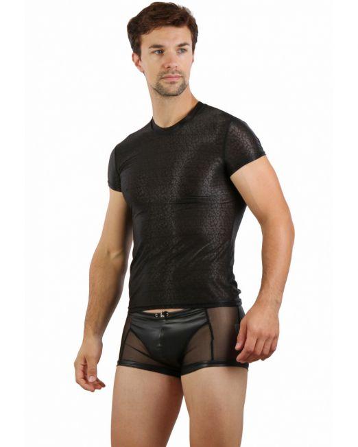 sexy-clubwear-zwart-leopard-heren-shirt-kopen